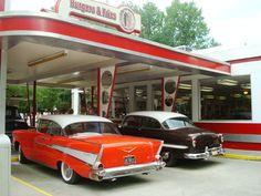 antique car at Dollywood, Gatlinburg, TN