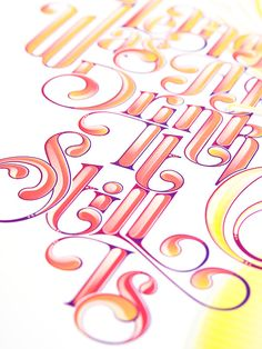 Inspiration Gallery #116 – Typography   From up North