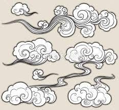 Asian Clouds Tattoo 115
