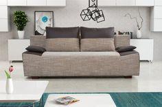 Pohovka trojsedačka Tango 3R (svetlohnedá + hnedá)   NovýNábytok.sk Sofa, Couch, Tango, Bed, Furniture, Home Decor, Settee, Settee, Stream Bed