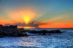 Gorgeous HAWAIIAN SUNSET!