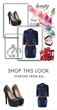 """""""denim dress 44"""" by umay-cdxc ❤ liked on Polyvore"""