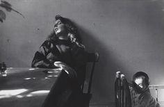 Robert Frank, Mary and Andrea , Third Avenue, New York City, 1955.