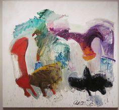 John Altoon. Untitled, 1962. Oil on canvas. LACMA