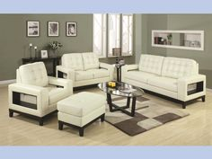Paige Beige Contemporary Sofa U0026 Loveseat #sofa #loveseat #livingroom #rana  #ranafurniture