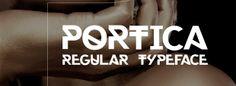 Portica: Una interesante tipografía Sans Serif gratuita inspirada en Helvética