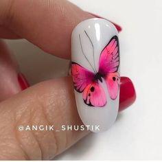 Nail Design, Nailart, Hair Beauty, Butterfly, Internet, French, 3d, Photos, Nail Art