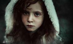 Forest Kid , Sofie Inuk Edelfelt on ArtStation at https://www.artstation.com/artwork/PY2K4