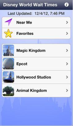 Disney World Tips and Tricks: Disney-Wait-Time-App