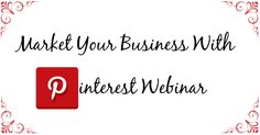 Still time to sign up for my #Pinterest webinar coming up tomorrow. For full details head to the link http://cartwheelsacrossthesky.com/pinterest-webinar/