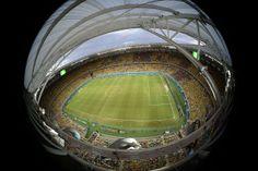 Estádio Castelão em Fortaleza, Brasil AFP PHOTO  POOL  FRANCOIS XAVIER MARIT