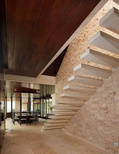 CASA KIMBALL IN THE DOMINCAN REPUBLIC BY RANGR STUDIO (love the detail on the bottom of the stairs)