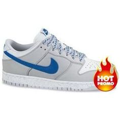 Womens Nike Dunk Low CL Neutral Grey New Blue White ac8e56bf8
