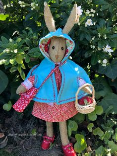 From A little retrospective of my Bonnie's adventures in honor of anniversary. Sewing Crafts, Sewing Projects, Sewing Ideas, Sewing Patterns, Crafts To Make, Fun Crafts, Doll Dress Patterns, Rabbit Toys, Funny Bunnies