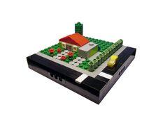 #LEGO #Microscale Family house