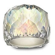 Nirvana Aurora Borealis Ring/ Swarovski I hate it and love it