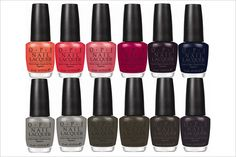 I'll take one of each for fall!!! OPI's Touring America Collection!