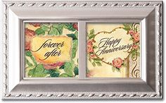 Happy Anniversary Forever After Cottage Garden Music Musical Jewelry Box Plays Unchained Melody >>> Check out the image by visiting the link. (This is an affiliate link) #JewelryMusicBoxesDressUpToys
