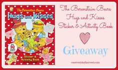 Winter blues are no match for The Berenstain Bears Hugs and Kisses Sticker and Activity Book. Kids will definitely keep occupied with the hours of fun that this book offers.