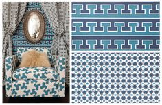 Gaaaah. I am drooling over these patterns and layout. Looooove.  Studio bon hand-printed textiles.