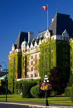 The Empress Hotel, Inner Harbour, Victoria, B.C.