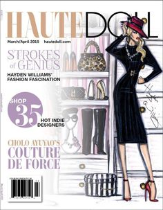Thank you Haute Doll Magazine for putting my work on the cover and for the 5 page spread! You can read the online version here http://viewer.zmags.com/publication/e5eabfae#/e5eabfae/24