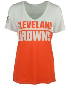 Nike Women's Cleveland Browns Home & Away T-Shirt - White L