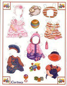 B IS FOR BABY – A PAPER DOLL SET