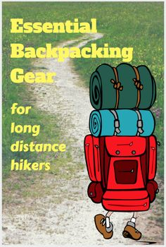 essential backpacking gear #hiking #AppalachianTrail #backpacking gear