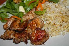 Cocina para Pobres: Pollo marinado con soja y sésamo