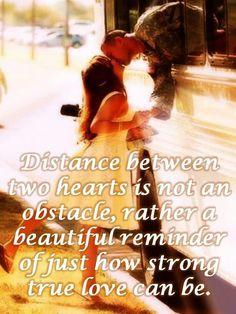 True love knows no distance