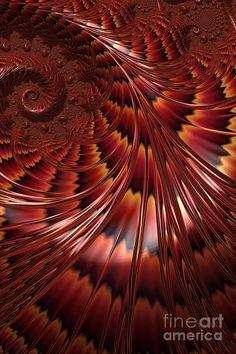 Tortoiseshell Abstract Digital Art