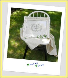 A Lapin Life: Chalk Paint and Wood Worker's Transfer Tool ... ~ Make a French Tray ~