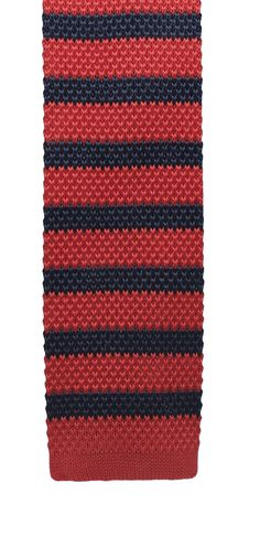 Red and Blue Square Knit - Rade Men's Wear
