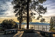 Lake Tahoe is the largest alpine lake in North America. Its depth is 1,645 ft (501 m), making it the second-deepest in the United States