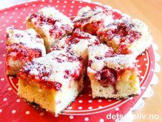 Jordbær- og ripskake | Det søte liv