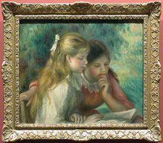 La Lecture d'Auguste Renoir (Musée du Louvre)
