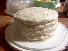 Mom's Vanilla Butter 4 Layers Cake! It's Yummy GooD!!