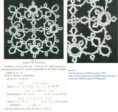 Square Motif Tatting pattern