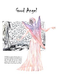 Dr. Faustus - Costume for Good Angel