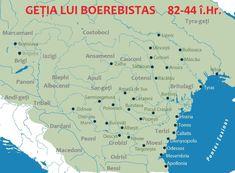 CELȚII DIN GEȚIA LUI BUREBISTA, CERTITUDINI ȘI CONTRADICȚII | Vatra Stră-Rumînă Bratislava, Map, Romania, King, Geography, Location Map, Maps