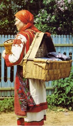 Everything Slavic related - Woman's North Udmurt costume, Russia