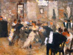 Edvard Munch - Ball, 1885 #arte
