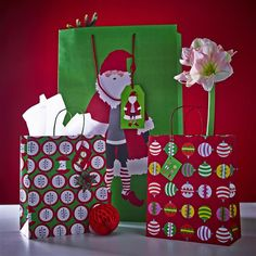 SNÖMYS gift bags