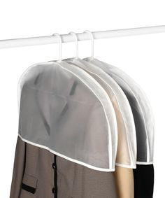 Take a look at this Whitmor Hanging Garment Shoulder Covers - Set of 3 today!