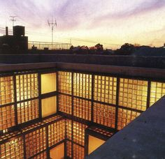 "Glass block house ""Ishihara House"" (1977) – Tadao Ando"