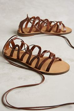 Miss Albright Rowena Gladiators - anthropologie.com #anthroregistry
