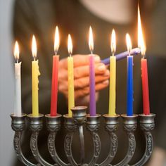 Hanukkah is an eight-day celebration Jewish people celebrate worldwide. Read on to learn about some games and Hanukkah traditions worldwide. Hanukkah Traditions, Family Traditions, Some Games, The Eighth Day, Around The Worlds, Candles, Traditional, Foods, Holidays