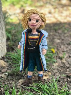 Ravelry: Thirteenth Doctor Who Amigurumi pattern by Allison Hoffman