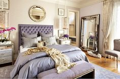 •beautiful lilac Bed•